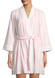 Kate Spade bay striped robe