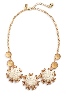 kate spade new york be bold statement collar necklace