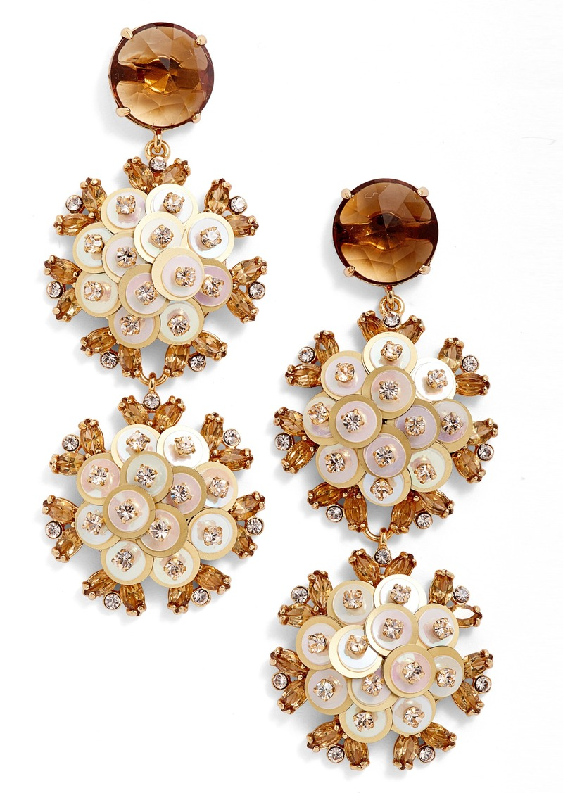 Kate Spade New York Be Bold Triple Drop Earrings