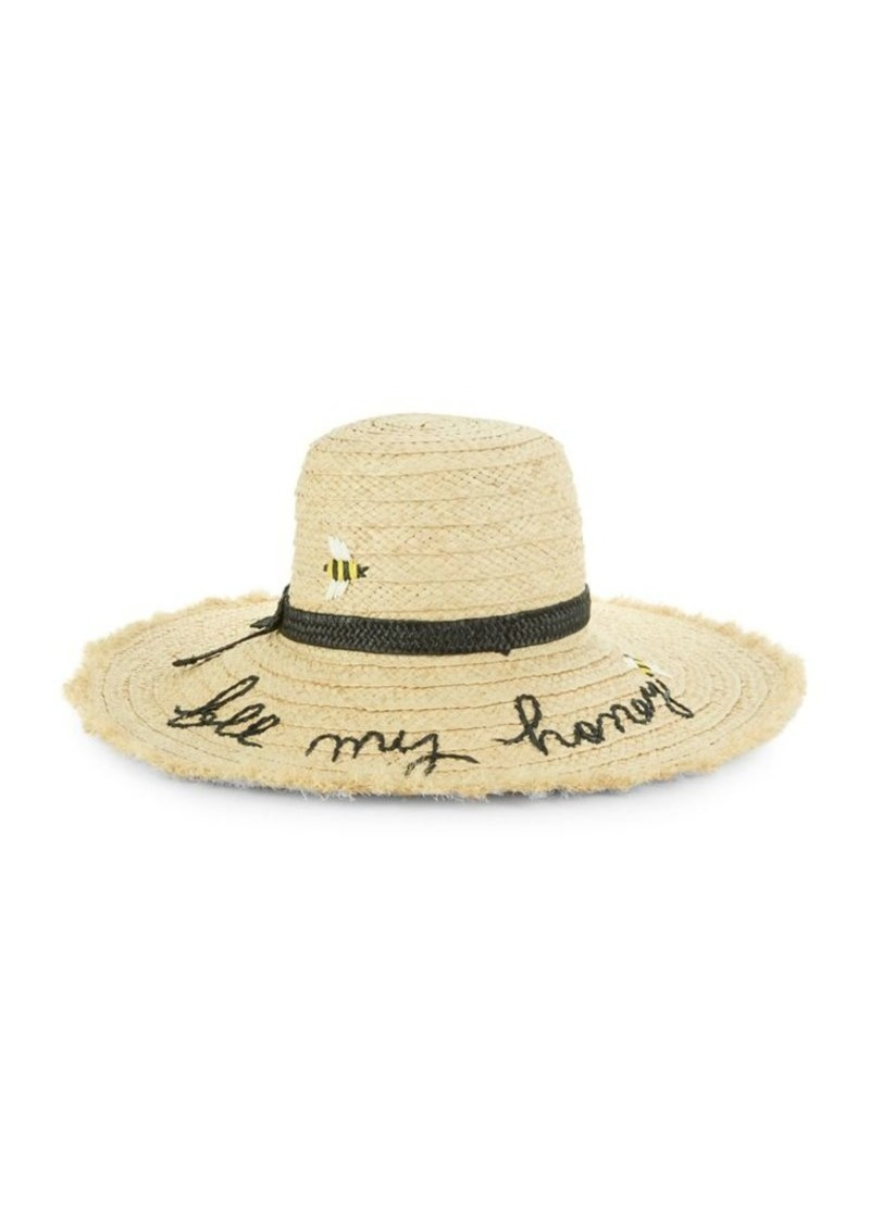 Kate Spade Kate Spade New York Be My Honey Sun Hat  2d5f41a7594