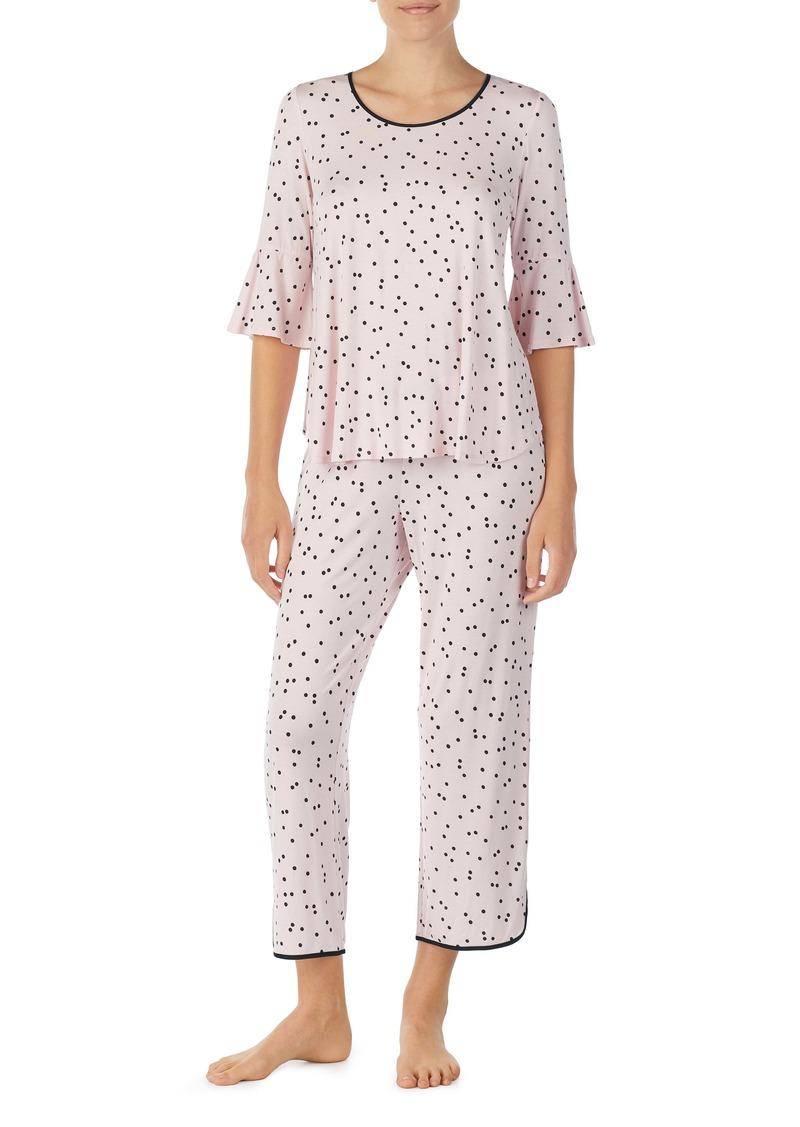kate spade new york bell cuff pajamas