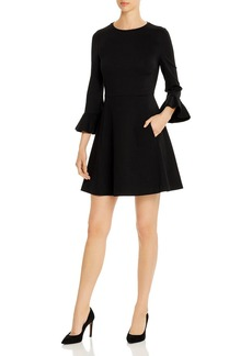 kate spade new york Bell-Sleeve Ponte Dress