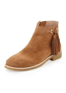 kate spade new york bellamy suede tassel bootie