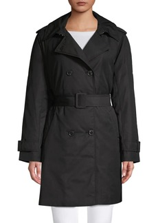Kate Spade New York Belted Double-Breasted Jacket