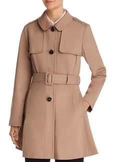 kate spade new york Belted Swing Trench Coat