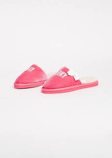 Kate Spade New York Berry Hooky Embroidery Slippers