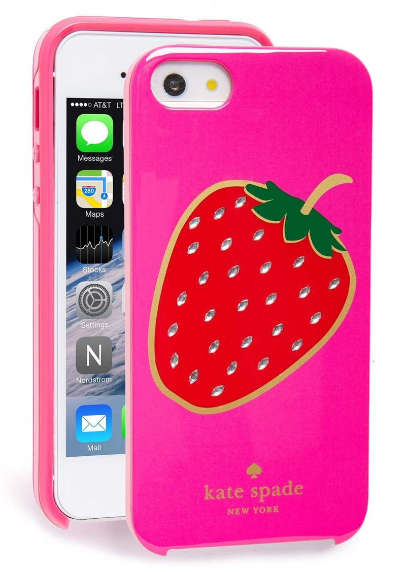 kate spade iphone 5s case kate spade kate spade new york berry iphone 5 amp 5s 17767