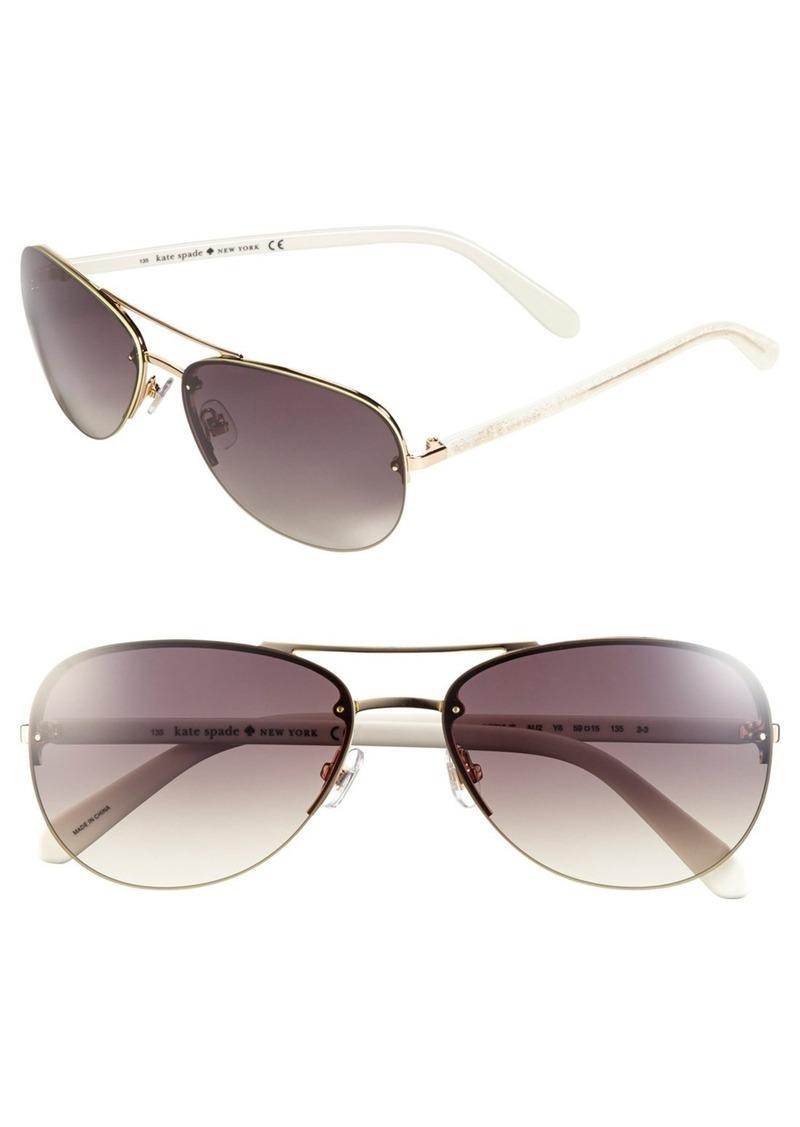 kate spade new york 'beryls' 59mm sunglasses