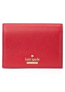 kate spade new york blake street – annabella leather card case