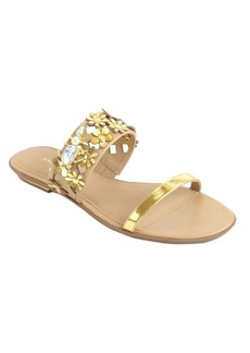 Kate Spade New York Bloom Slide Leather Sandals