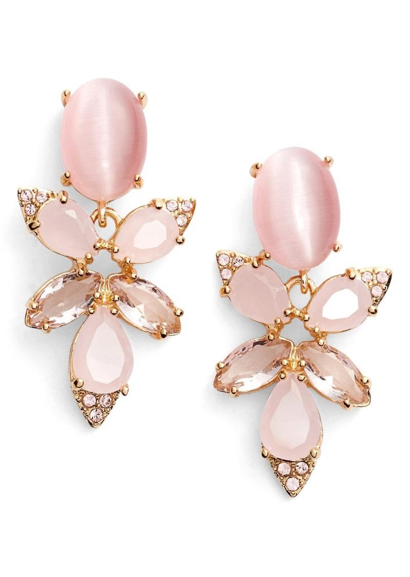Kate Spade New York Blushing Blooms Drop Earrings