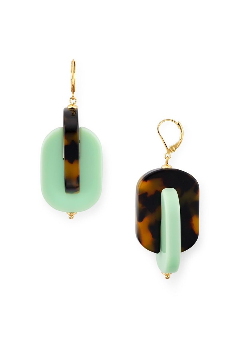 kate spade new york Bold Drop Earrings