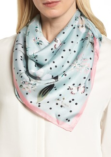 Kate spade kate spade new york going places silk scarf misc kate spade new york botanical patchwork square silk scarf sciox Image collections