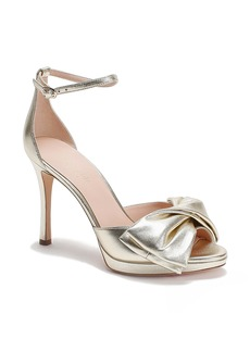 kate spade new york bow ankle strap sandal (Women)