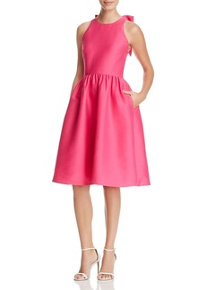 kate spade new york Bow Back Fit-and-Flare Dress