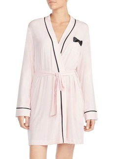 Kate Spade New York Bow-Detail Short Robe