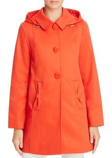 kate spade new york Bow Pocket Rain Coat