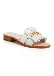 kate spade new york Brie Kiltie Slide Sandals