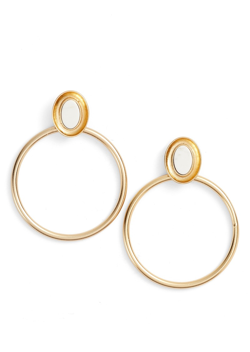 Kate Spade New York Bright Bold Hoop Earrings