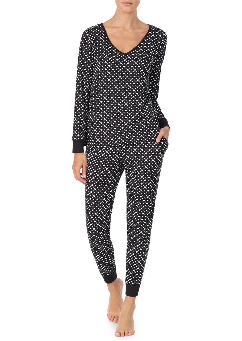 kate spade new york brushed jersey pajamas