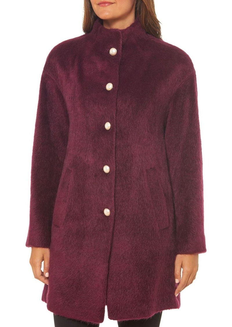 kate spade new york Brushed-Knit Coat