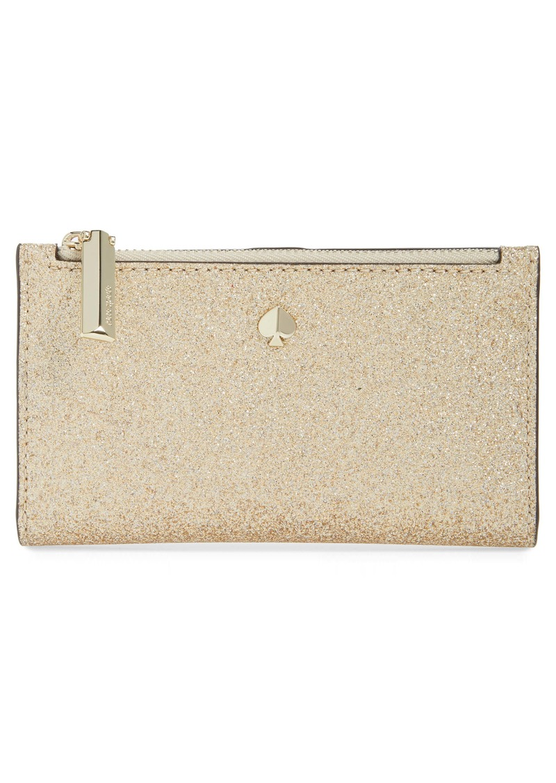 kate spade new york burgess court glitter wallet