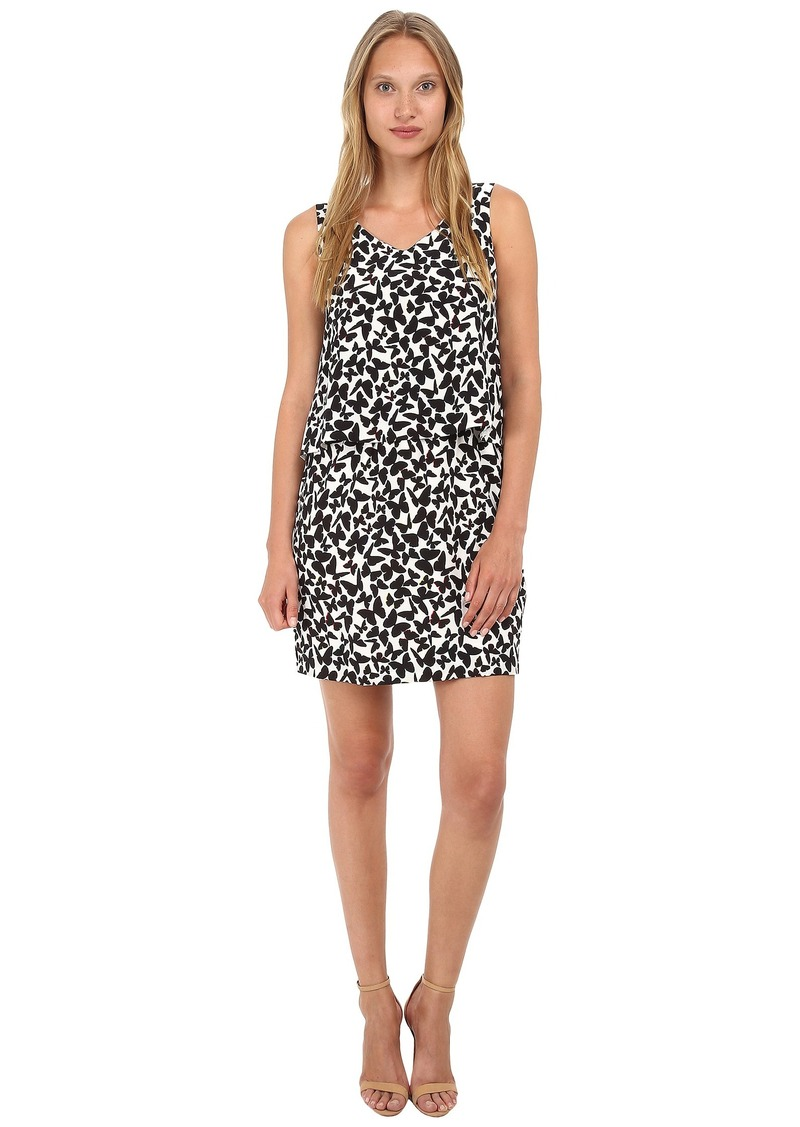 Kate Spade New York Butterfly Double Layer Dress