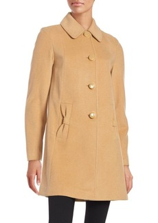 Kate Spade New York Button Front Coat