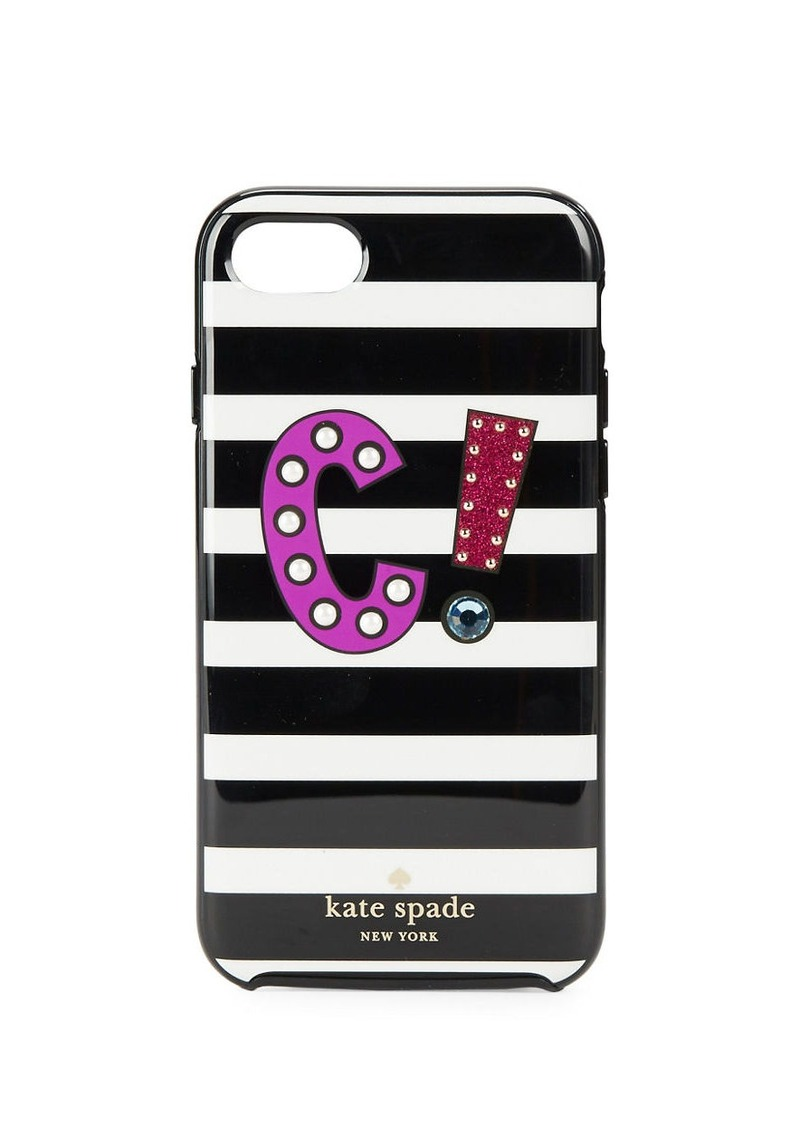 KATE SPADE NEW YORK C Initial iPhone 7 Case