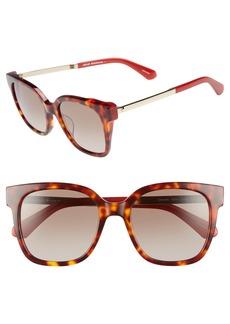kate spade new york caelyns basic 52mm sunglasses