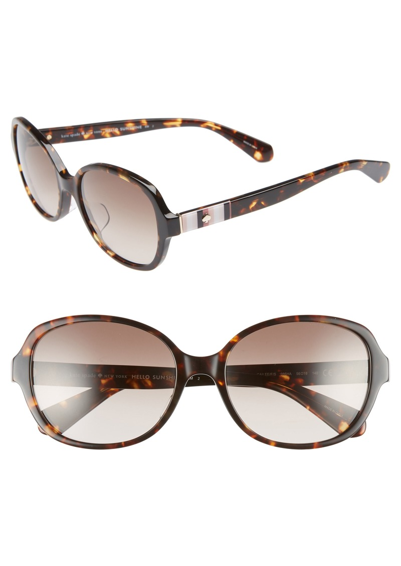 kate spade new york cailee 56mm special fit sunglasses