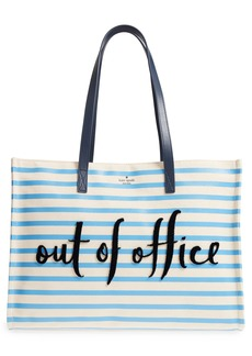 kate spade new york california dreaming - out of office canvas tote