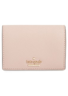 kate spade new york cameron street - annabella leather accordion card case