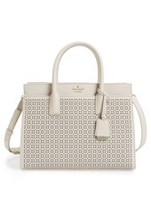 kate spade new york 'cameron street - candace' perforated satchel