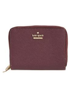 kate spade new york cameron street - lainie zip-around leather wallet