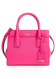 kate spade new york 'cameron street - mini candace' leather satchel
