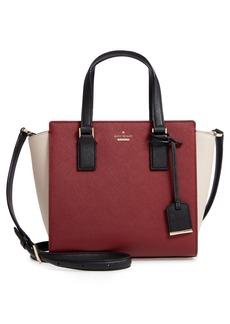 kate spade new york cameron street - small hayden leather satchel