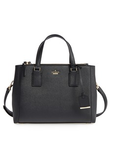 kate spade new york cameron street - teegan calfskin leather satchel