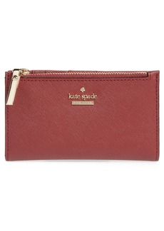 kate spade new york cameron street – mikey crosshatched leather wallet