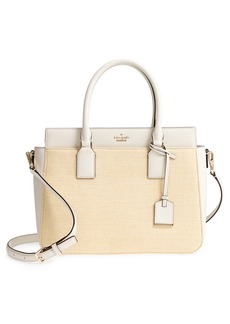 kate spade new york cameron street – sally straw & leather satchel