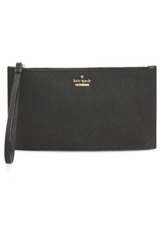 kate spade new york cameron street ariah leather wristlet
