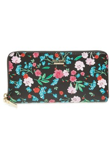 kate spade new york cameron street jardin lacey leather wallet