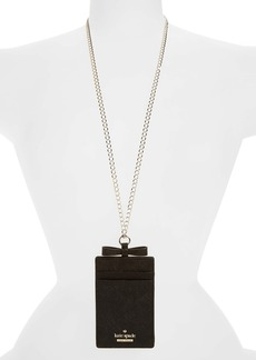 kate spade new york cameron street lanyard card holder