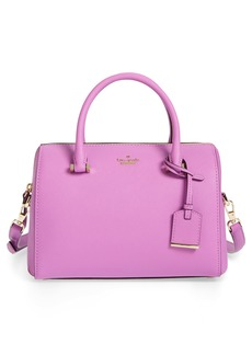 kate spade new york cameron street large lane leather satchel