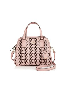 kate spade new york Cameron Street Little Babe Perforated Leather Satchel