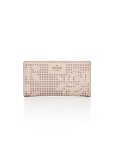 kate spade new york Cameron Street Stacy Perforated Leather Wallet