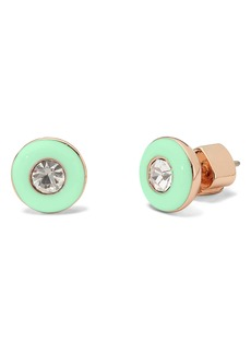 kate spade new york candy drops round enamel stud earrings