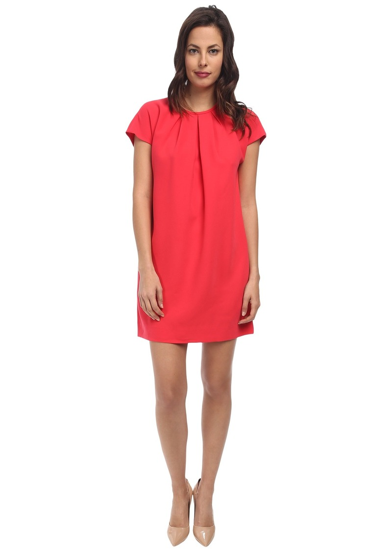 Kate Spade New York Cap Sleeve Crepe Dress