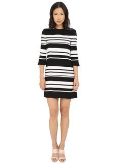 Kate Spade New York Cape Stripe Dizzy Dress