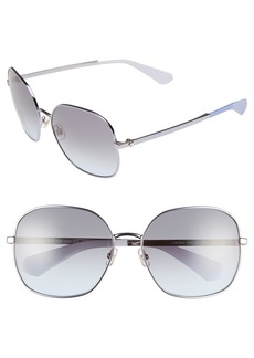 kate spade new york 'carlisa' 59mm sunglasses